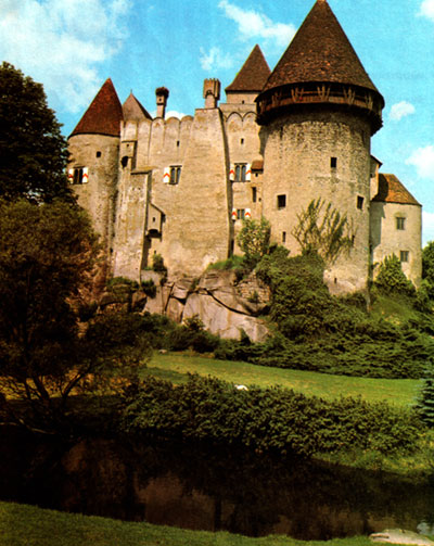 Heidenreichstein - a Moated Castle in North Austria